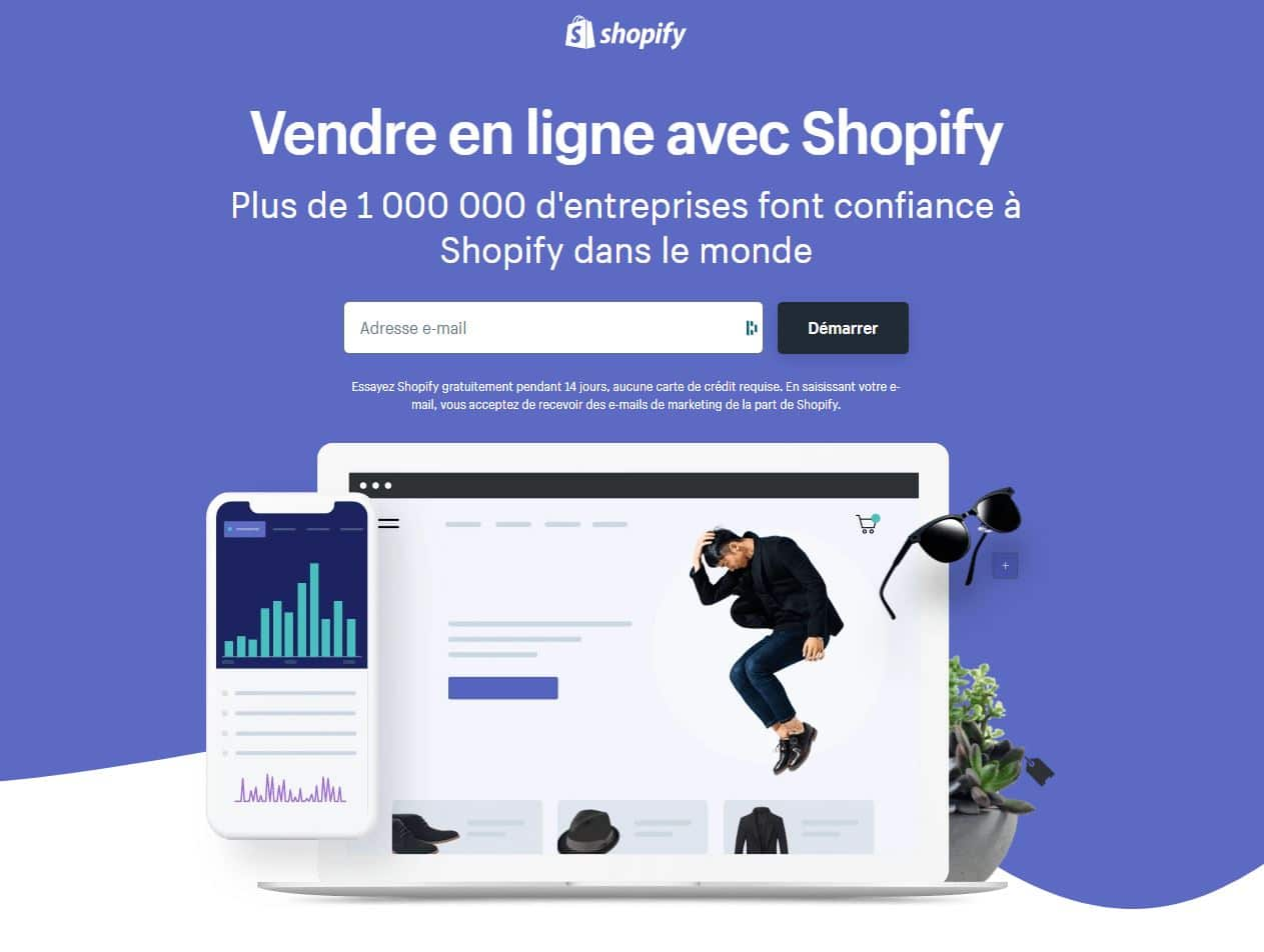 shopify ecommerce facile